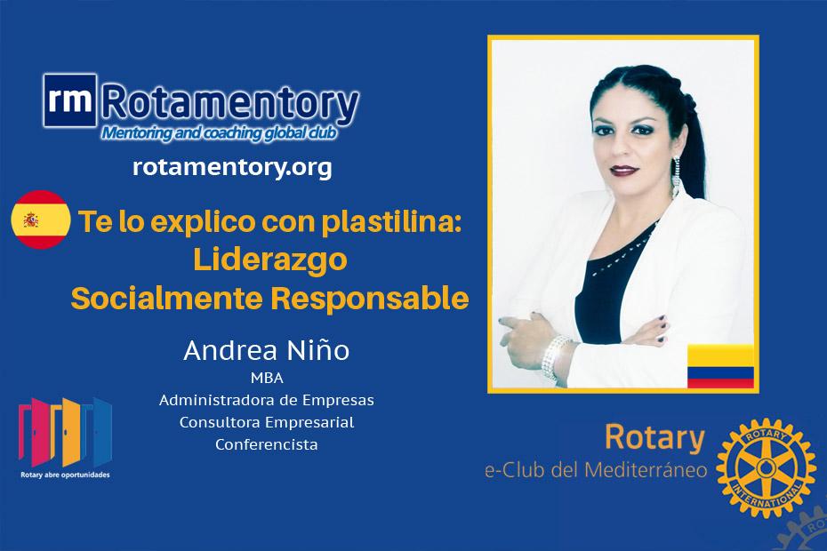 Andrea Niño – Te lo explico con plastilina: Liderazgo Socialmente Responsable
