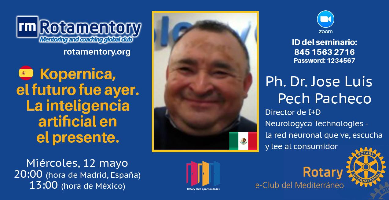 Inteligencia Artificial – Ph. Dr. Jose Luis Pech Pacheco