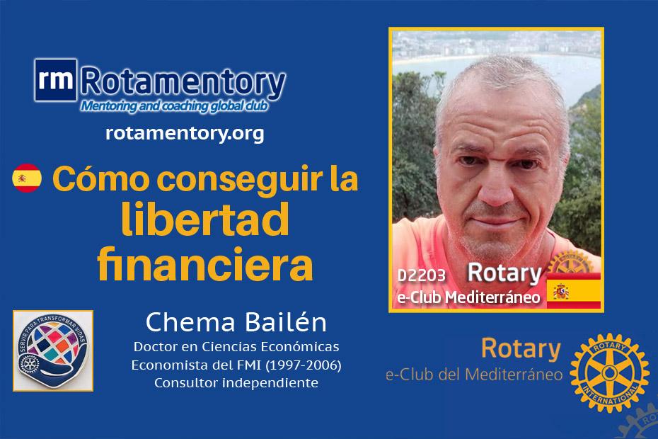 Como conseguir la libertad financiera, con Chema Bailén